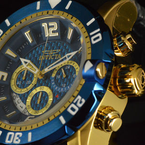 NEW Invicta Pro Diver Gen II 48mm Blue Dial Watch
